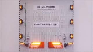 Blinkersteuerung für Seitenmarkierungsleuchten -  PRO-BLINK