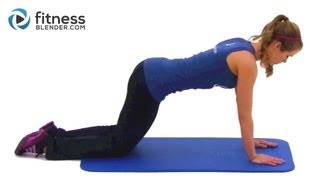 Kelli's Favorite Bodyweight Workout - Total Body Toning & Functional Strength Training Exercises by FitnessBlender
