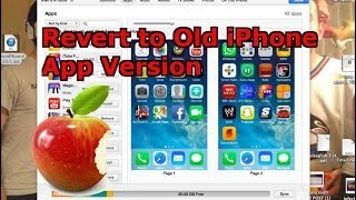 How to Reverse an App Update on your iPhone