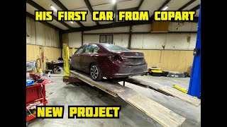 Buying His First Car From Copart (Part 1)