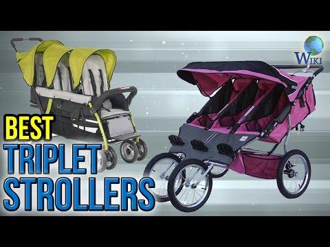 6 Best Triplet Strollers 2017