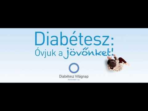 Szemek diabétesz kezelésére