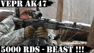 Video Vepr AK47, 5000rds Later - THE BEAST!