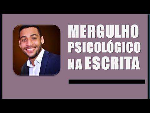 MERGULHO PSICOLÓGICO NA ESCRITA