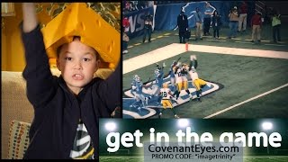 BEST 2015 NFL PLAYS | SUPER BOWL Covenant Eyes | Live IT Episode 92 [ MassImpact.us ]