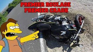Premier roulage premier crash
