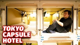 Staying At A Tokyo Capsule Hotel