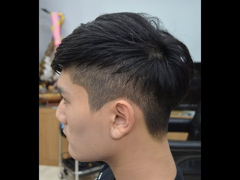 마산창원미용이용학원) 남성 투블럭컷(Two block haircut for men)