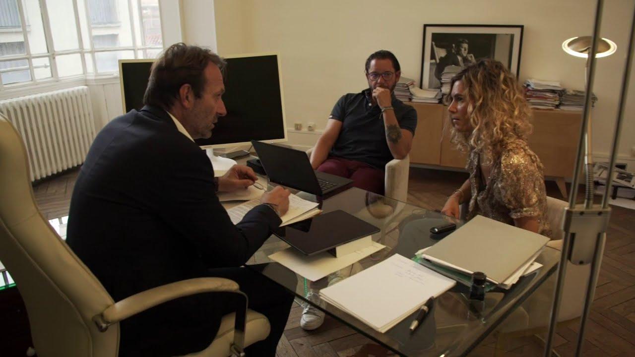 LIGNE ROUGE - Nous avons pu filmer une réunion de travail des 3 avocats de Cédric Jubillar