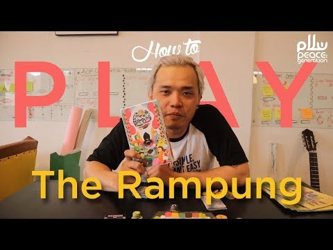 How To Play Boardgame 'The Rampung'