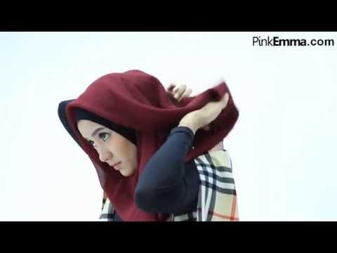 Video Tutorial Hijab Segi Empat Untuk Lebaran
