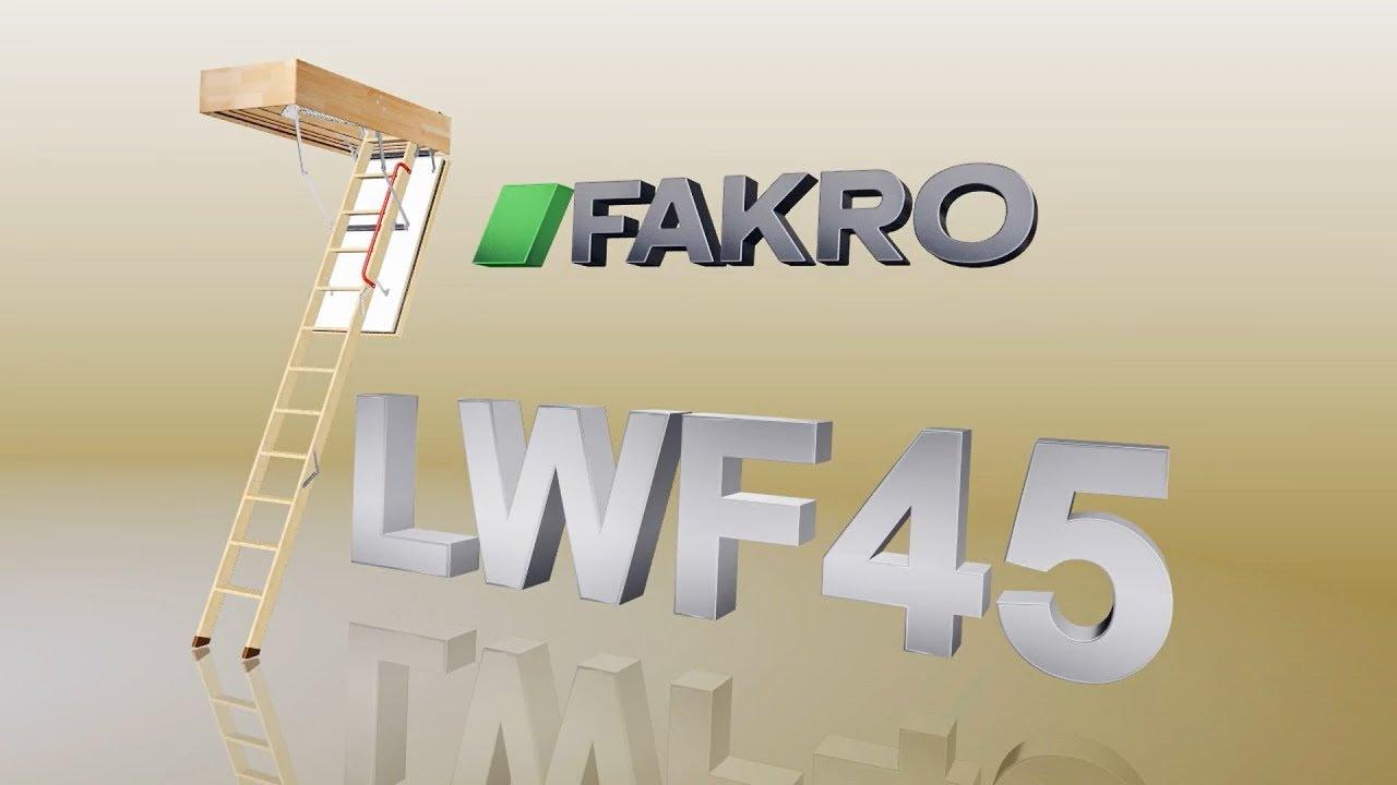 LWF Wooden Loft Ladder