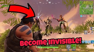 Fortnite Glitches Season 5 (New) Become Invisible Easily PS4/Xbox one 2018