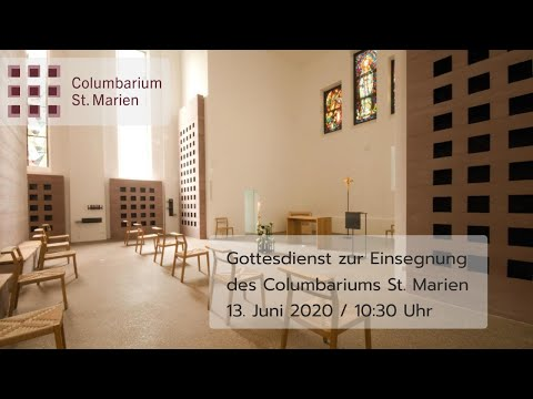 Einsegnung Columbarium