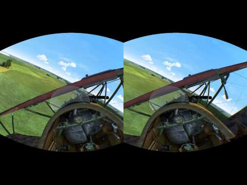 Rise Of Flight Positional Tracking — Oculus