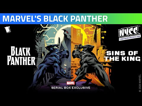 Serial Box | Marvel's Black Panther - Sins of the King