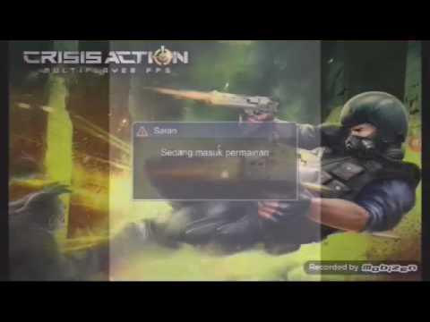 Video Cara mendapat senjata Gatling Gun    CRISIS ACTION