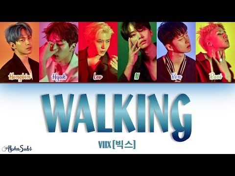 VIXX (빅스) - WALKING [걷고있다] Color Coded Lyrics/가사 [Han|Rom|Eng]