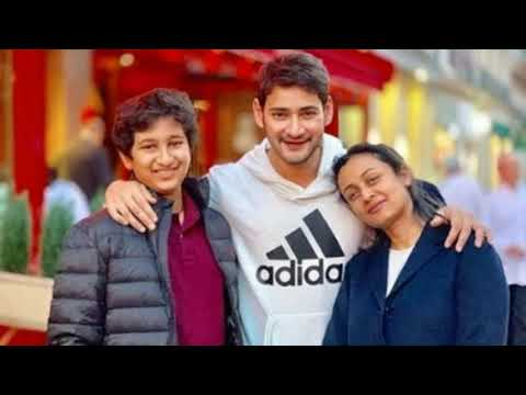 Mahesh babu latest family pictures