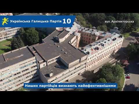 Над Левом: вул. Карпінського, Архітекторська, пл. Святого Юра, Митрополита Андрея