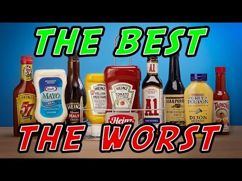Best and Worst CONDIMENTS     How to Be Healthy and Add Delicious Flavors To Your Food
