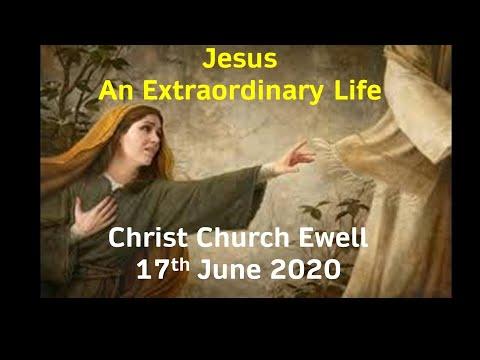 "Zoom Webinar CCE Sunday Service - ""Jesus An Extraordinary Life"" Mark 5:21-43"