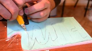 Tim Word - Объемная надпись своими руками