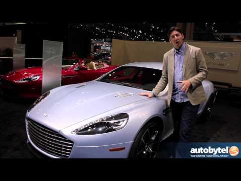 2014 Aston Martin Rapide S At The 2013 New York Auto Show