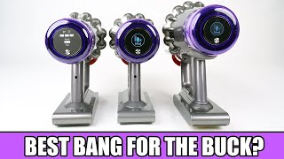 Which DYSON V11? BEST BANG FOR THE BUCK? V11 Animal vs V11 Torque Drive vs V11 Outsize.