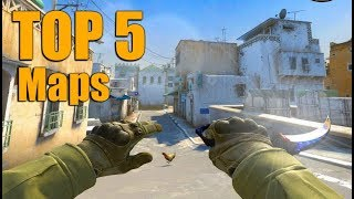 Top 5 Maps in Counter Strike Global Offensive (CS:GO)