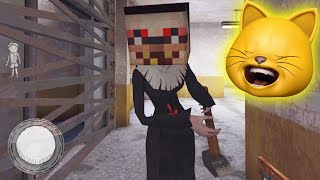 I Bought A MINECRAFT SKIN For The EVIL NUN!!