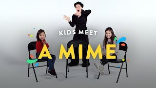 Kids Meet A Mime | Kids Meet | HiHo Kids