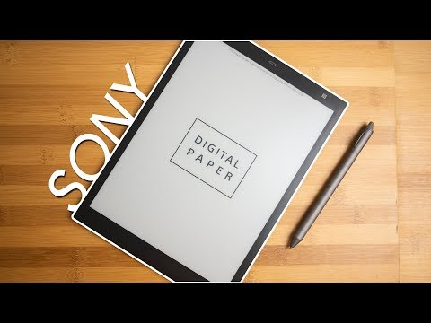 Sony Digital Paper tablet Review