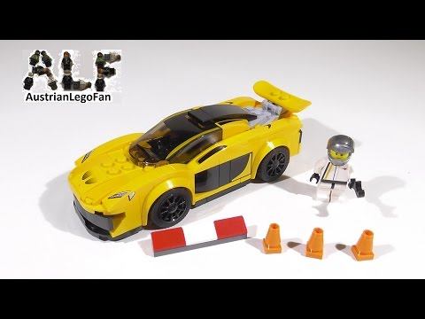 Vidéo LEGO Speed Champions 75909 : McLaren P1