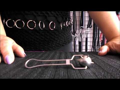 Kleines Kugelrad   Painwheel - Nervenrad mit spitzen Dornen - klein und gemein
