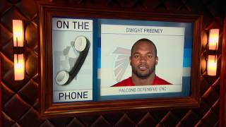 Falcons Defensive End Dwight Freeney talks about the rise of teammate Vic Beasley. 1/16/17