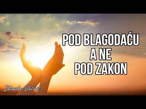 Zdravko Vučinić: Pod blagodaću, a ne pod zakon
