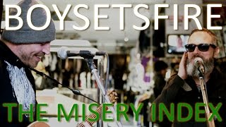 """Untold Stories: Boysetsfire - """"The Misery Index"""" (Live at Core Tex)"""