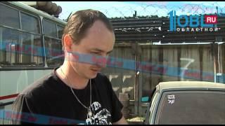 В Челябинске неизвестные обстреляли маршрутное такси из пневматики