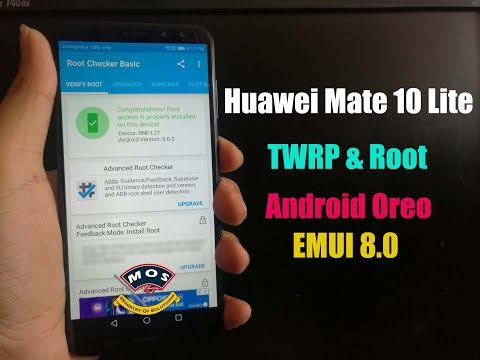 How to update your Huawei to OREO [HWOTA] (Root) - смотреть