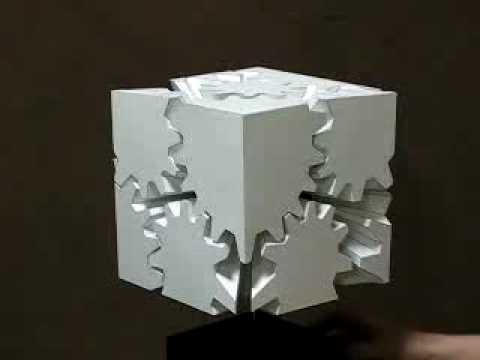 This Cube Made Of Gears Shouldn't Work, But It Does