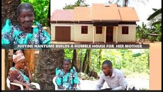JUSTINE NANTUME Blesses her mother with a humble house as she reaps big in farming #Extradigestshow