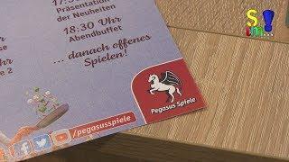 Neuheiten, Ersteinblick - Bericht - Pegasus Spiele Pressetag19  - Brettspiele - Spiel doch mal...!