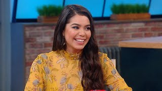 """The Real-Life """"Moana"""" Talks About Her First TV Kiss for """"Rise"""" (Her Mom Was Watching!)"""