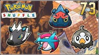Zebstrika  - (Pokémon) - Pokémon Shuffle S Rank 73 - MALDITO MEGA HERACROSS !!!