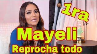 MAYELI ALONSO LE REPROCHA A ELISA BERISTAIN TODO - Entrevista Exclusiva 1ra Parte