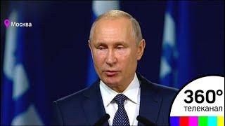 Путин поблагодарил ФИФА за поддержку