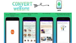 7201I Will Convert Your Website into Android App