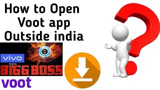 How to open Voot app Outside India | How To Open Voot App in Pakistan