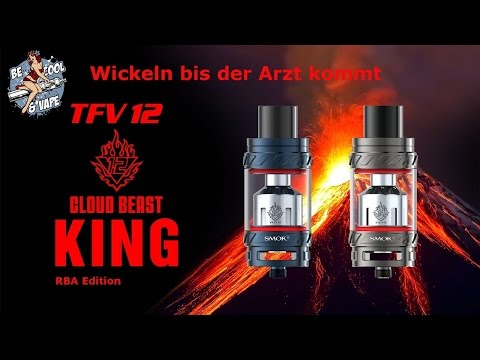 YouTube Video zu Smok TFV12 V12-RBA Single-Coil / Dual-Coil